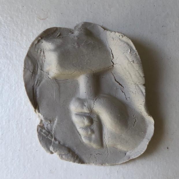 Photo of porcelain work in progress