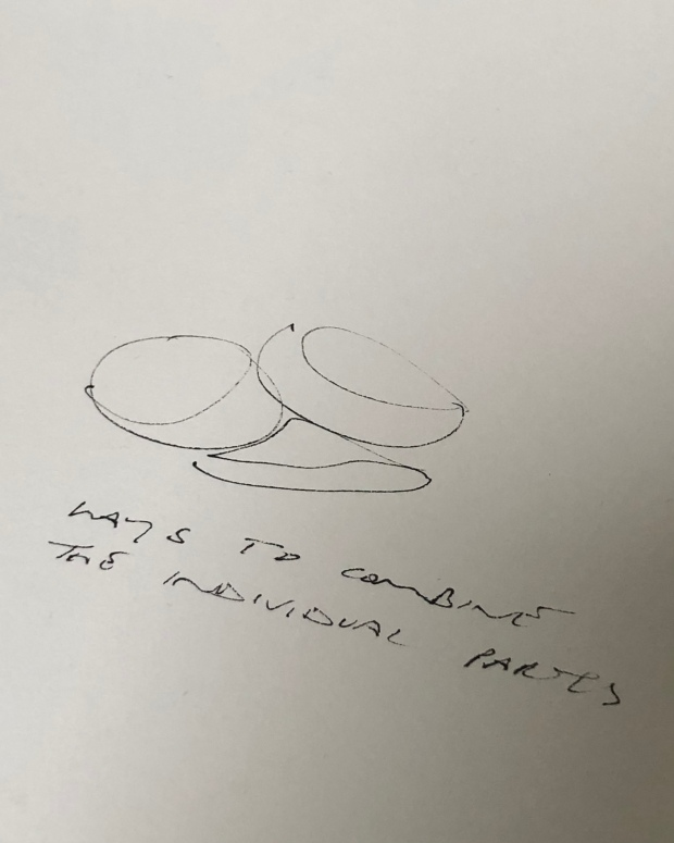 Crustaceous sketch