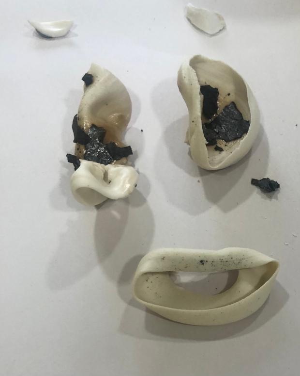 Several porcelain pieces